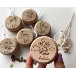 Yoyo de madera modelo eucalipto