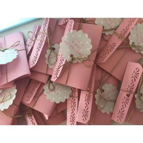 Pack 30 Etiquetas onduladas 5 cm