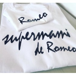 Camiseta Supermami y peque