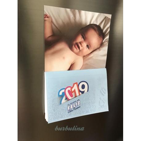 calendario personalizado 2019 con foto