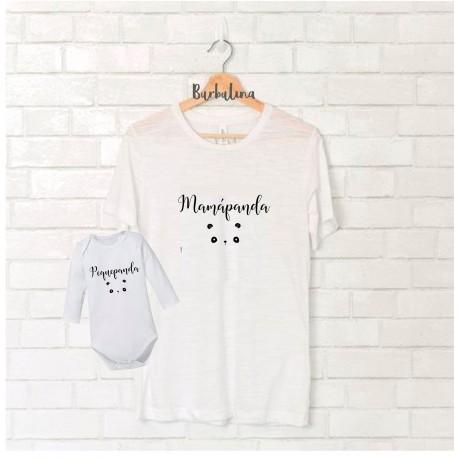Camiseta Mamá Panda